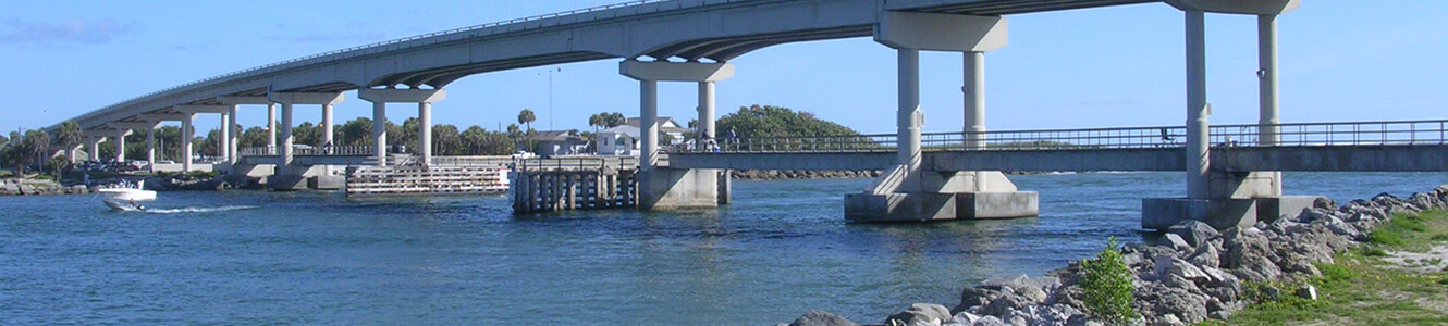 Indian River Bridge, Sebastian Florida
