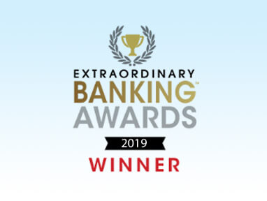 Extraordinary Banking Awards 2019 Winner